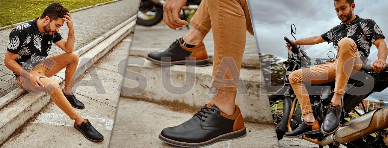 Zapatos casuales hombre - Capriatto